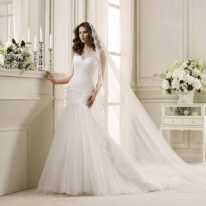 abito-da-sposa-2014-con-gonna-in-chiffon
